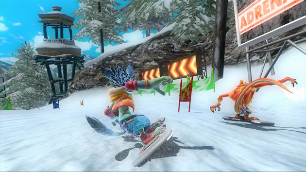 Adrenalin Misfits Xbox360, JOGO EM CURSO