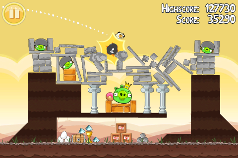 angry birds now available on pc at retail gamingboltcom video online angry birds 480x320