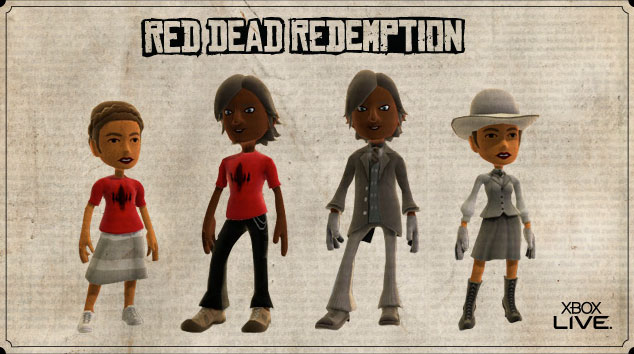 Red Dead Redemption XP Challenge For Avatar Wear – PS3 vs ...