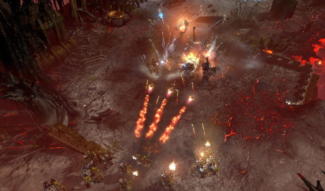 Dawn of war 2 retribution explosions