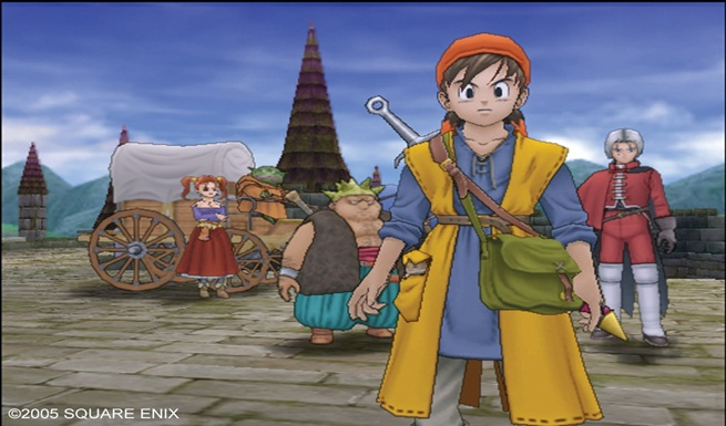 Dragon quest 8 pic