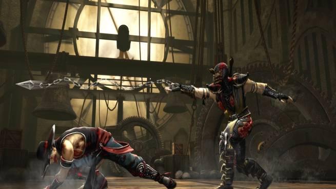 Mortal Kombat- Raiden gameplay video