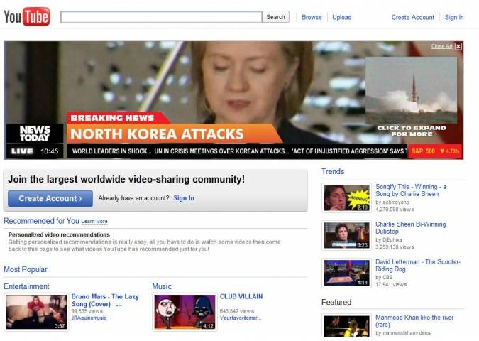 Homefront Ad Scares Youtube Visitors - Page 2 - NextGenUpdate