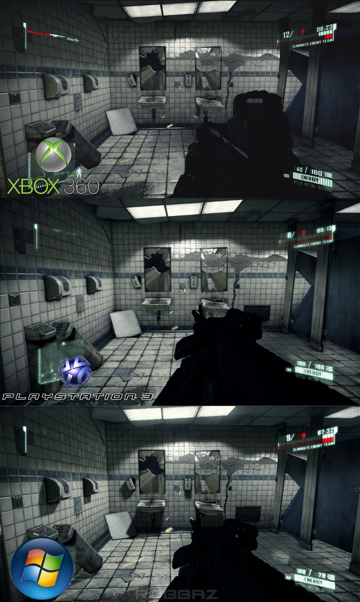 Crysis 360 Vs Ps3