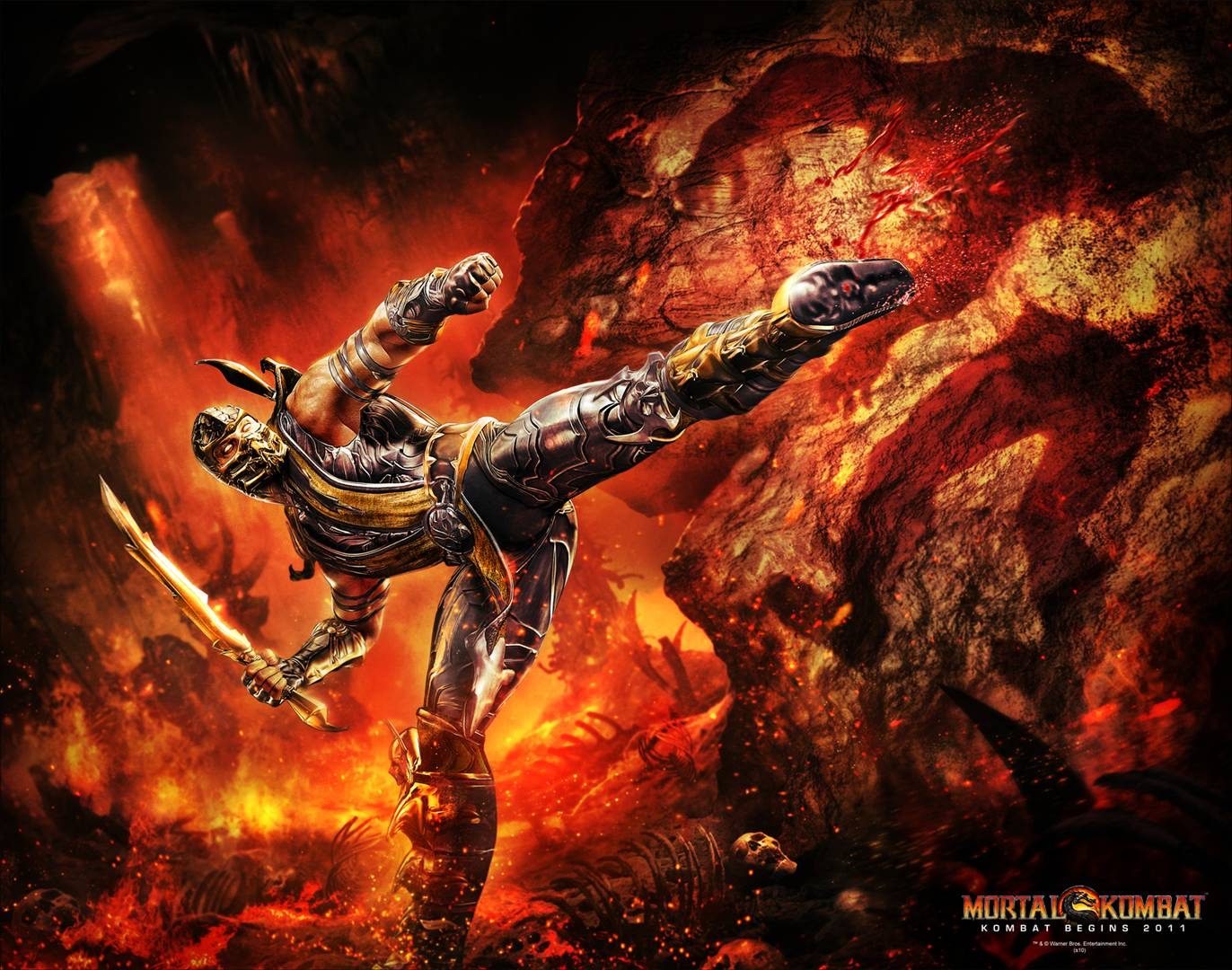 Mortal Kombat 1080p Hd Wallpaper