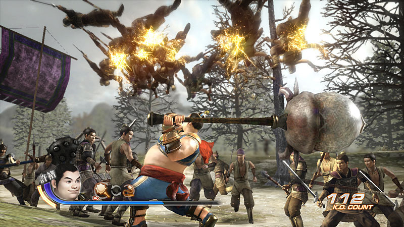 Dynasty Warriors 6 game perang
