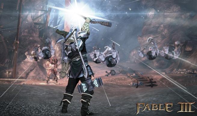 Особенности сражений в Fable 3 + новые скриншоты.