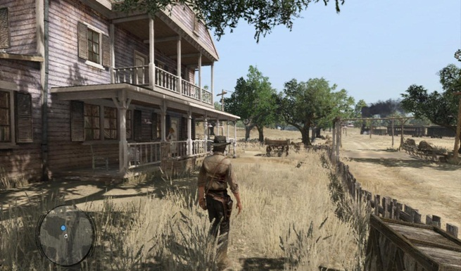 Red dead ranch