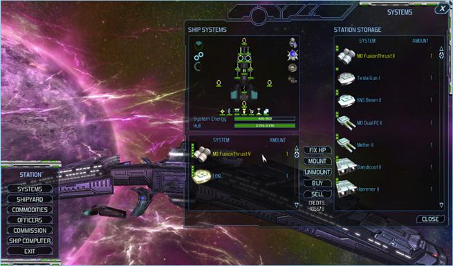Starpoint Gemini  Building A Ship