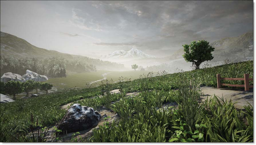 New Foliage System In Unreal Engine 3 Will Blow You Away