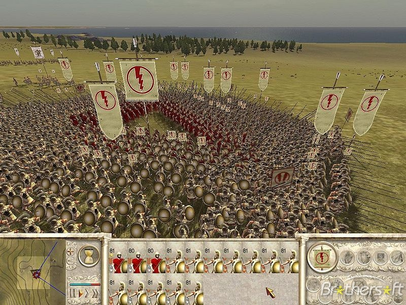 Игру Rome Barbarian Invasion