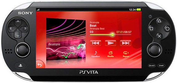 PS Vita Web Browser and Music Player Revealed