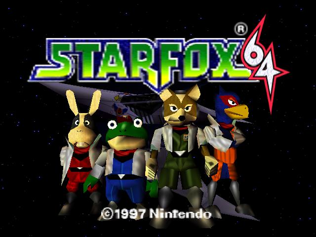 30 Questions: Video Game Style Starfox_64_Title_Screen_by_Clifftothemax