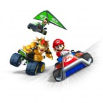 Check out the off-screen footage of Mario Kart 7