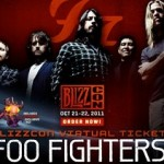 Foo Fighters Playing Live at BlizzCon 2011