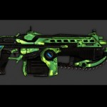 Gears of War 3 – All Weapon Skins Including 22 Weapon Skins That Must Be Purchased Over Xbox Live