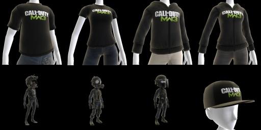 Modern Warfare 3 Russian Spec Ops Gear Added to Avatar