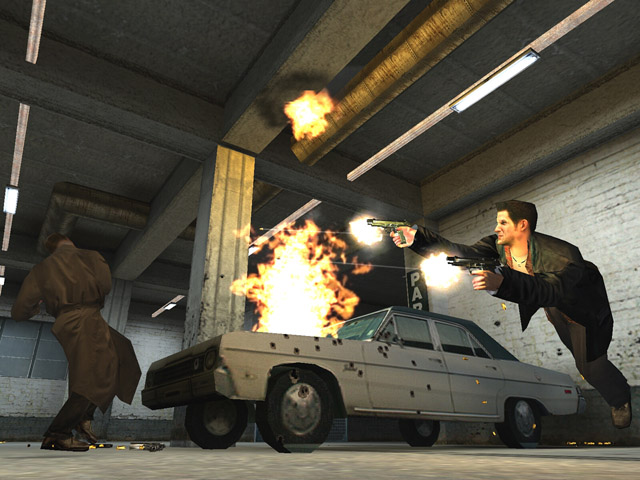 Max Payne Comes To Ps4 As A Ps2 Classic