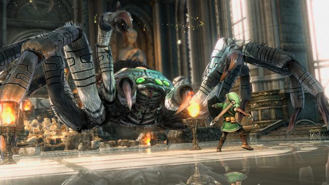 Full Zelda HD Wii U tech demo footage