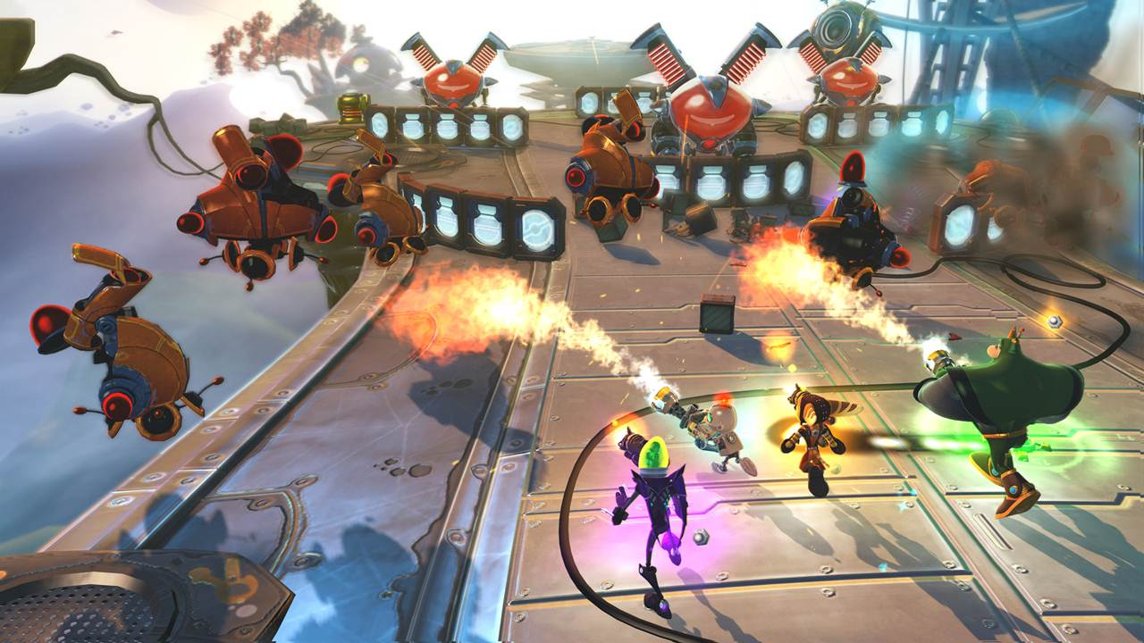 Ratchet And Clank All 4 One Hd Video Walkthrough Game Guide