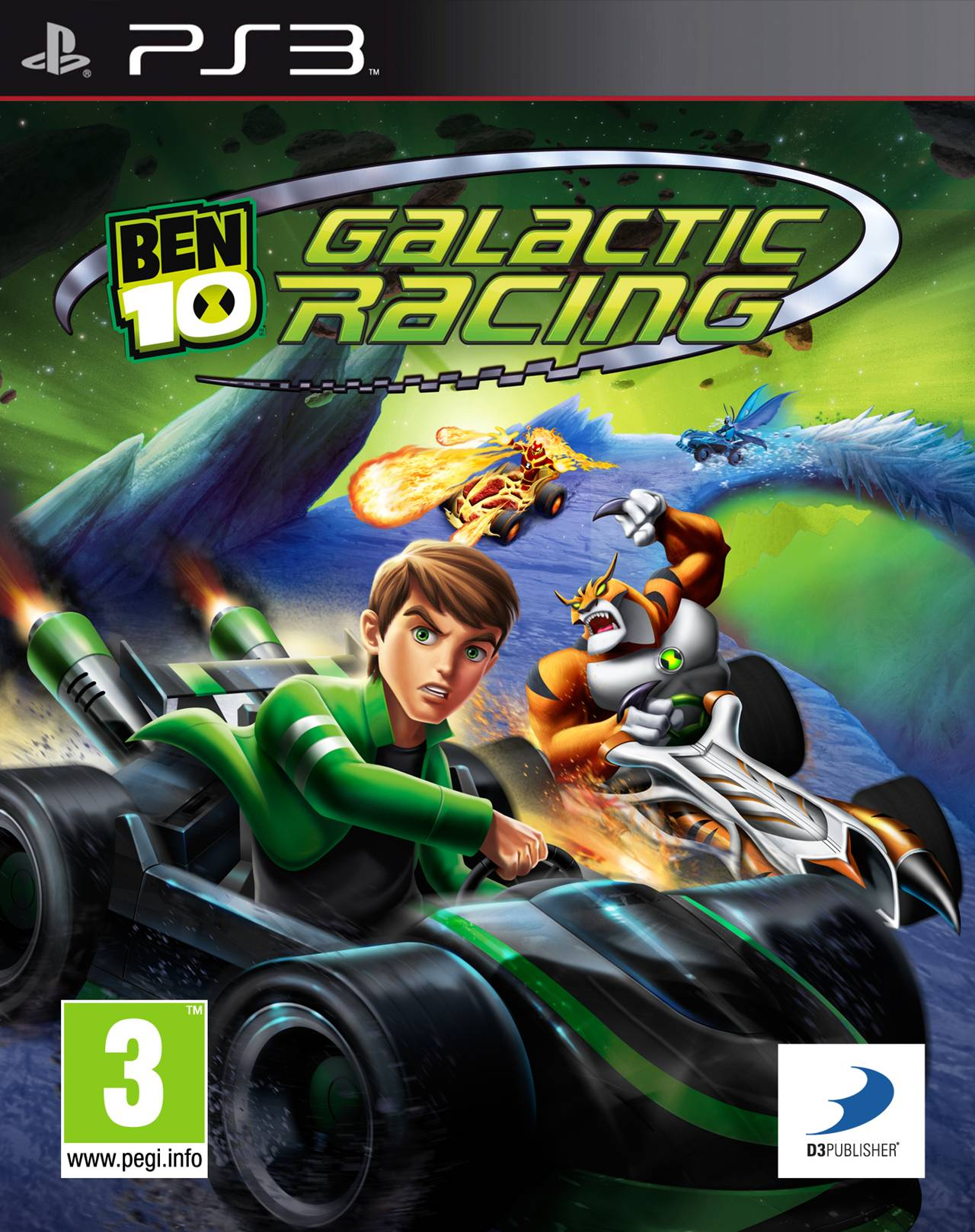 Ben 10: Galactic Racing - GameSpot