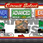 Daytona USA – Four aggressively driven screens