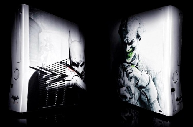 Batman Arkham City Custom Xbox 360