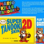 """PETA says use of Tanooki suit was """"a fun way to call attention to a serious issue""""; asks Mario fans to """"relax"""""""