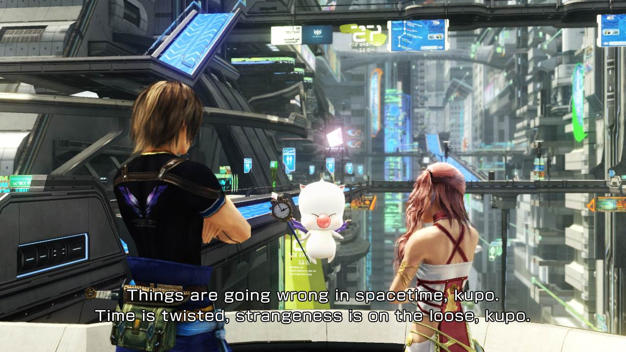 Final Fantasy XIII-2 : Crystarium, Augusta Tower and Historia Crux