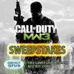 Modern Warfare 3 – Gamer Grub Contest