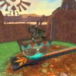 The Legend of Zelda: Skyward Sword – Lanayru Desert and Lanayru Mining Facility screenshots
