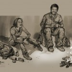 Fantastic new artwork from The Last of Us released
