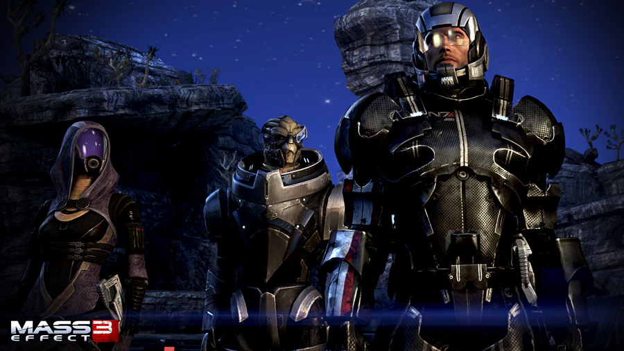 how to get salarian and krogan support
