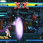 Ultimate Marvel vs. Capcom 3: A set of flame-grilled screenshots