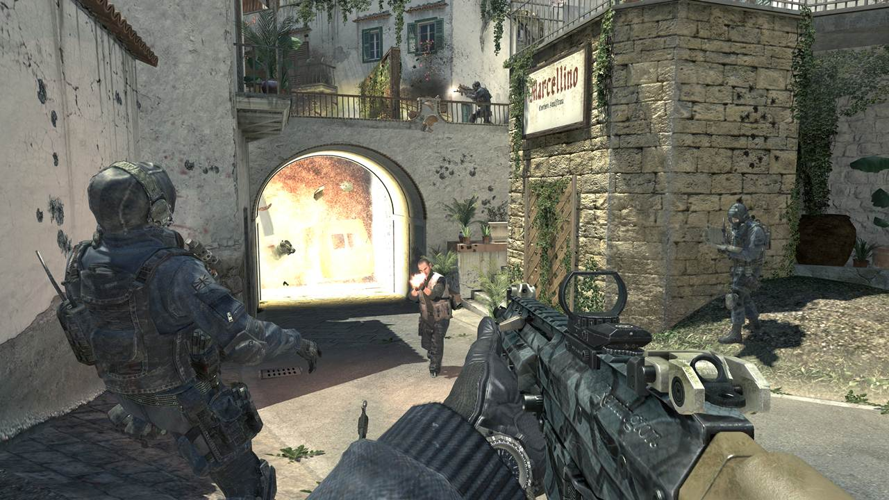 Call of Duty Elite and Modern Warfare 3 PS3 DLC Screens Released