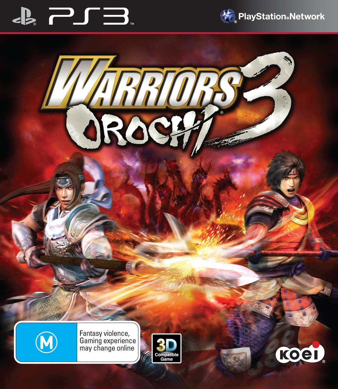 Warriors Orochi 3 Ultimate Fast Bond: Warriors Orochi 3: It's The Final Pack Shot