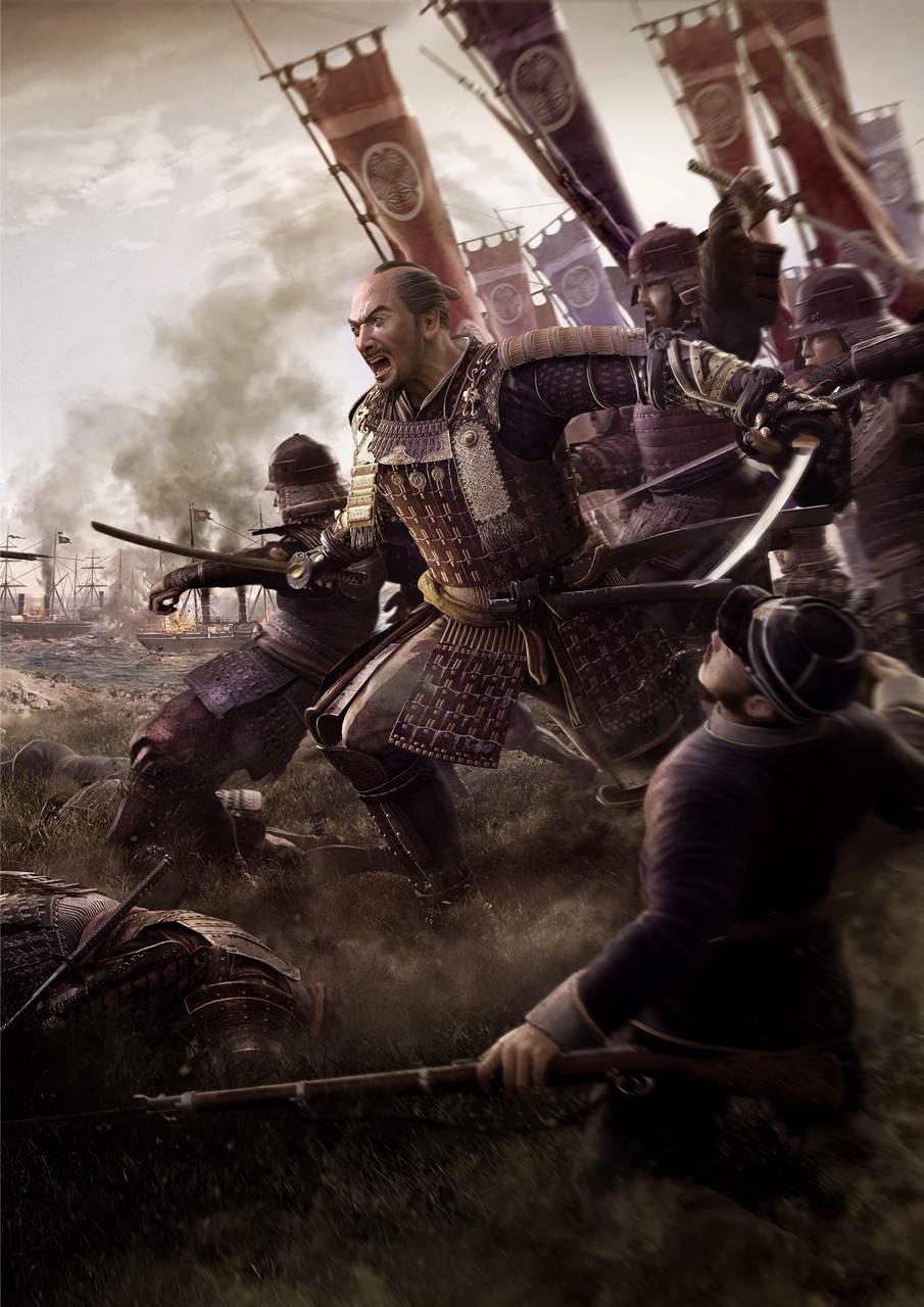 Best Ps Vita Games >> Total War: SHOGUN 2 – The Samurai might be falling, but their artwork isn't