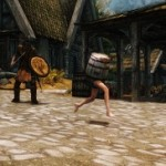 Barrelborn – wait what? One of the weirdest things you'll ever see in Skyrim