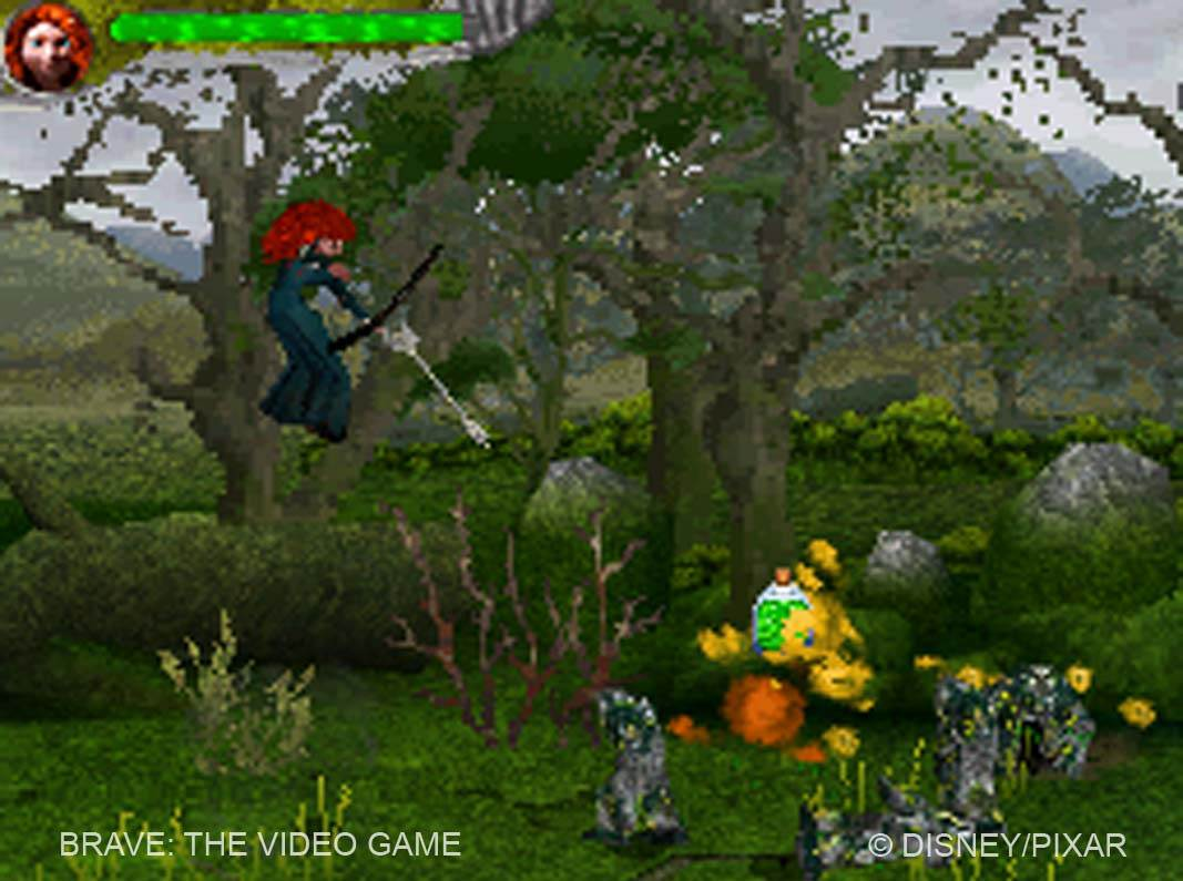 Brave The Video Game A large collection of new screenshots brave