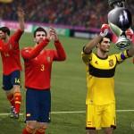 UEFA Euro 2012 Screens Show Italy And Spain