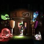 Luigi's Mansion: Dark Moon- 3 pieces of artwork