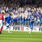 FIFA 13 gameplay screens