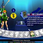 Persona 4 Arena: Screens from Chie Satonaka character pack