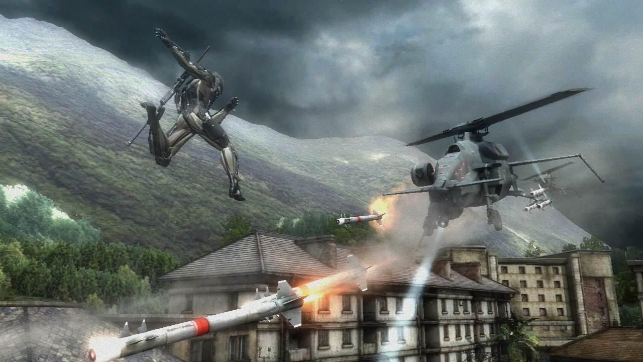Metal Gear Rising: Revengeance – Screenshots from Comic ...