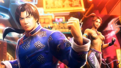 Lei&Christie_Street Fighter X Tekken