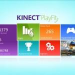 Kinect PlayFit: Some toned screenshots