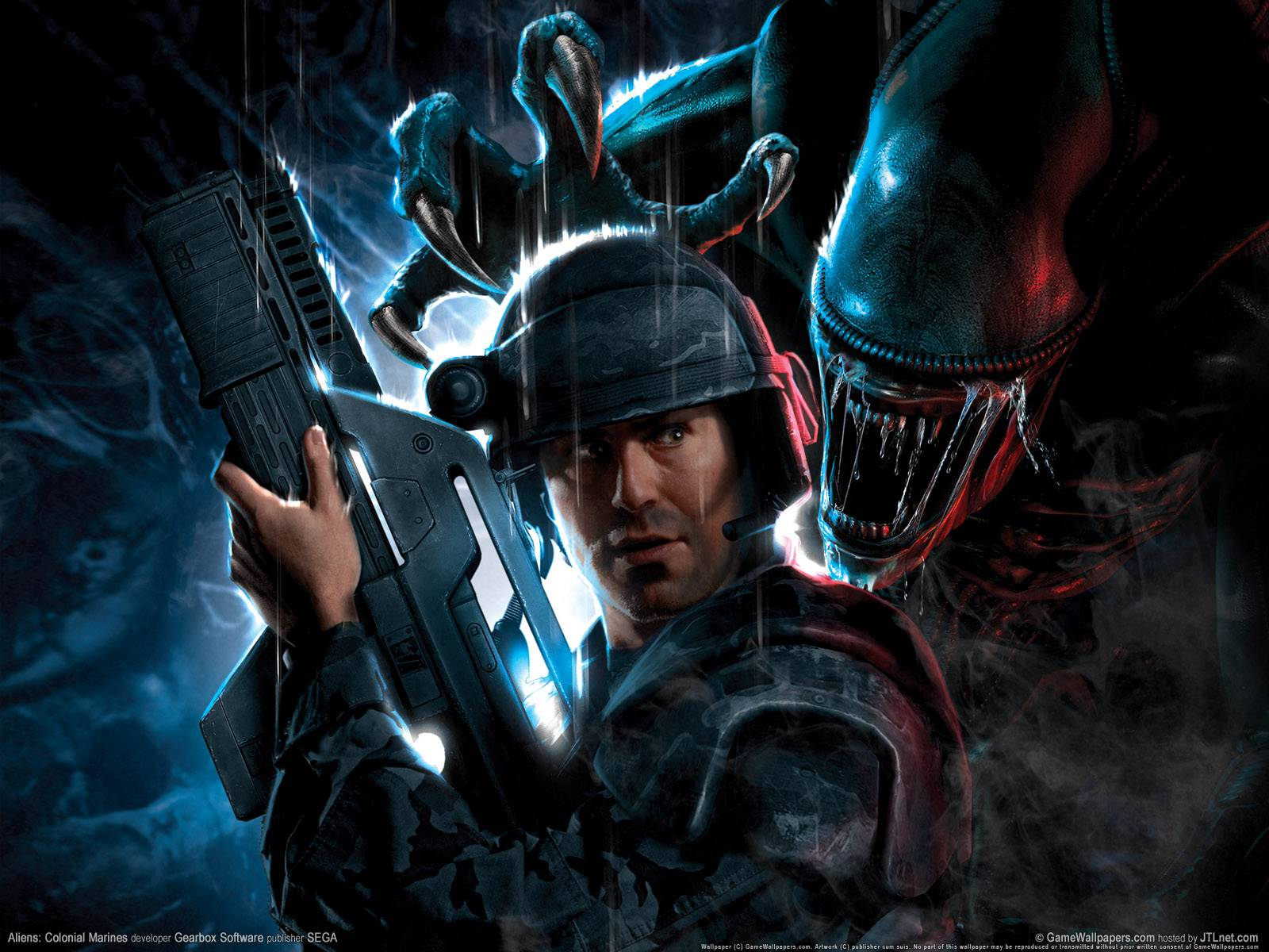 تصویر  Aliens Colonial Marines Wallpapers in HD « Video Game News ...
