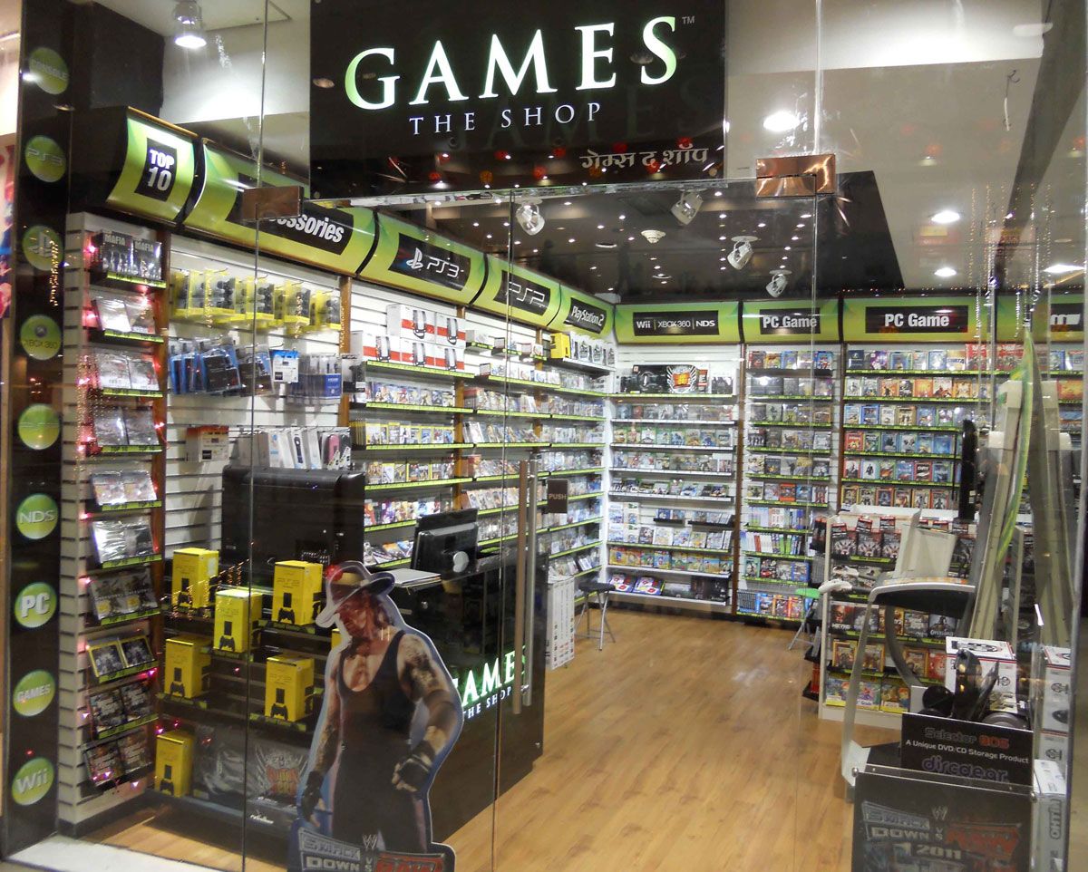 games at shop