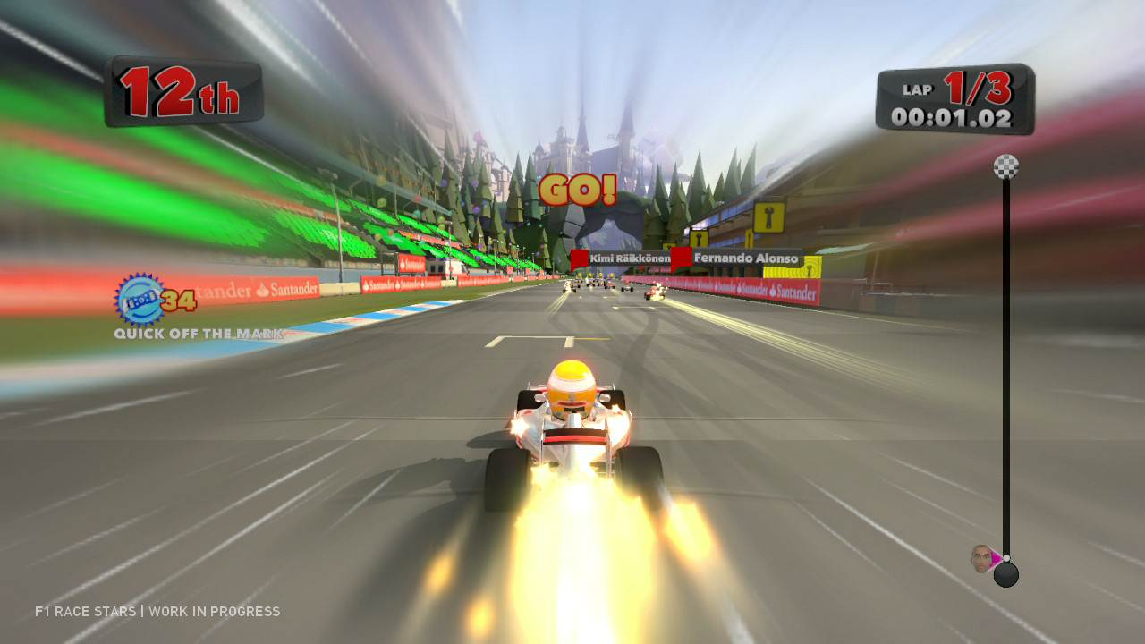 F Race Car Game Ps