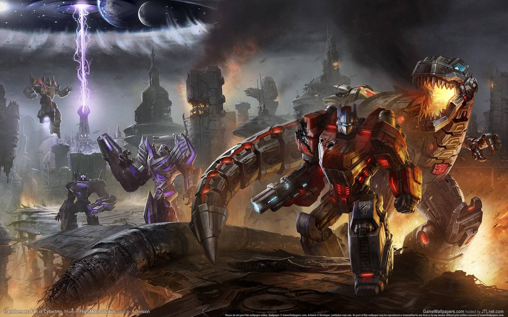 Transformers: Fall of Cybertron Wallpapers in HD